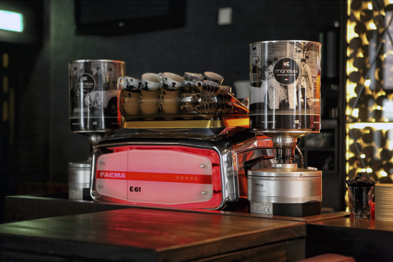 Espresso automaat Faema Manetti koffie Marcel de Graaf fotografie Deventer