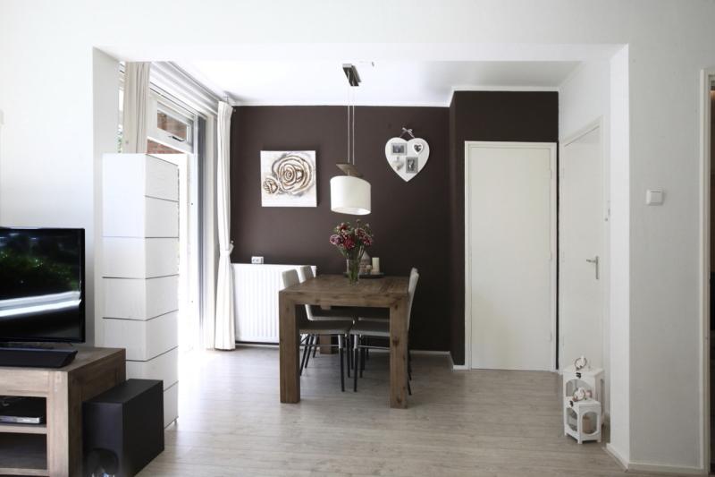 Woning bruine muur Verkoopwijs makelaardij Marcel de Graaf fotografie Deventer
