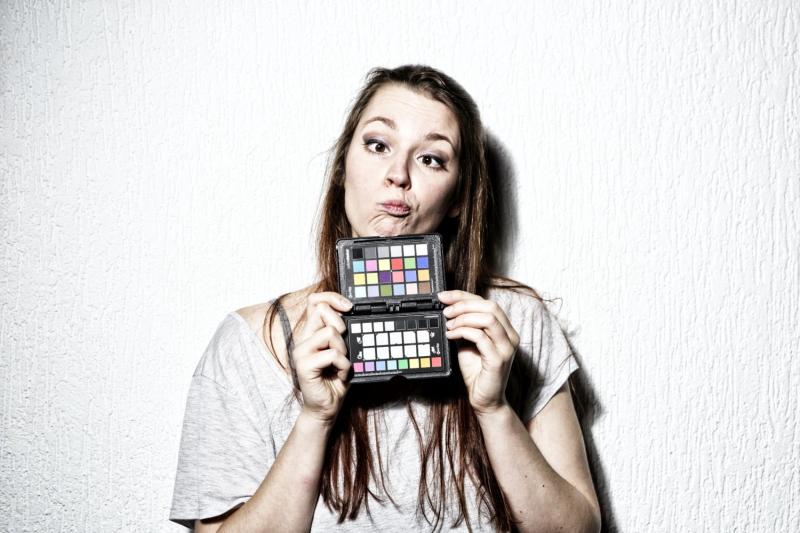 kleurkaart model studio workshop Marcel de Graaf fotografie Deventer