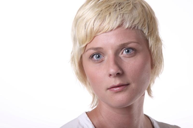 Profielfoto blonde dame Marcel de Graaf fotografie Deventer