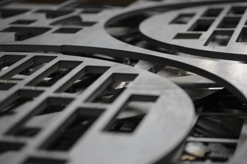 Metaalunie metalen vormen Marcel de Graaf fotografie