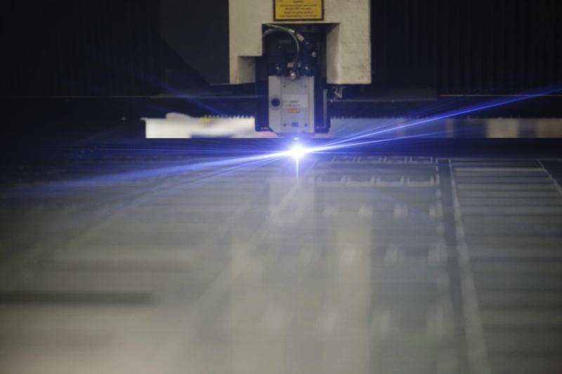 Metaalunie metaalsnijder laser Marcel de Graaf fotografie